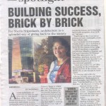 Building success, brick by brick