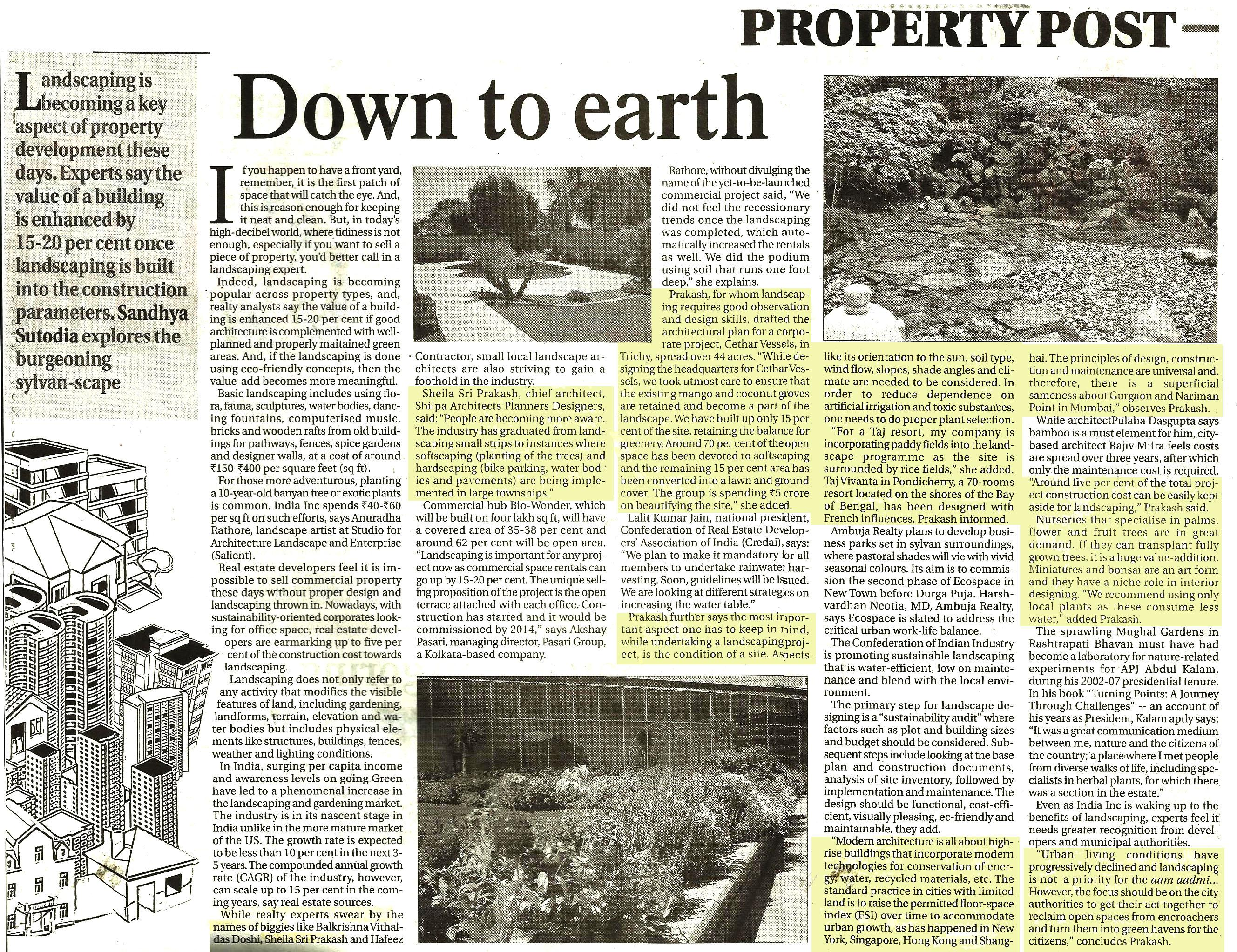 Shilpa Architects - The Bengal Post