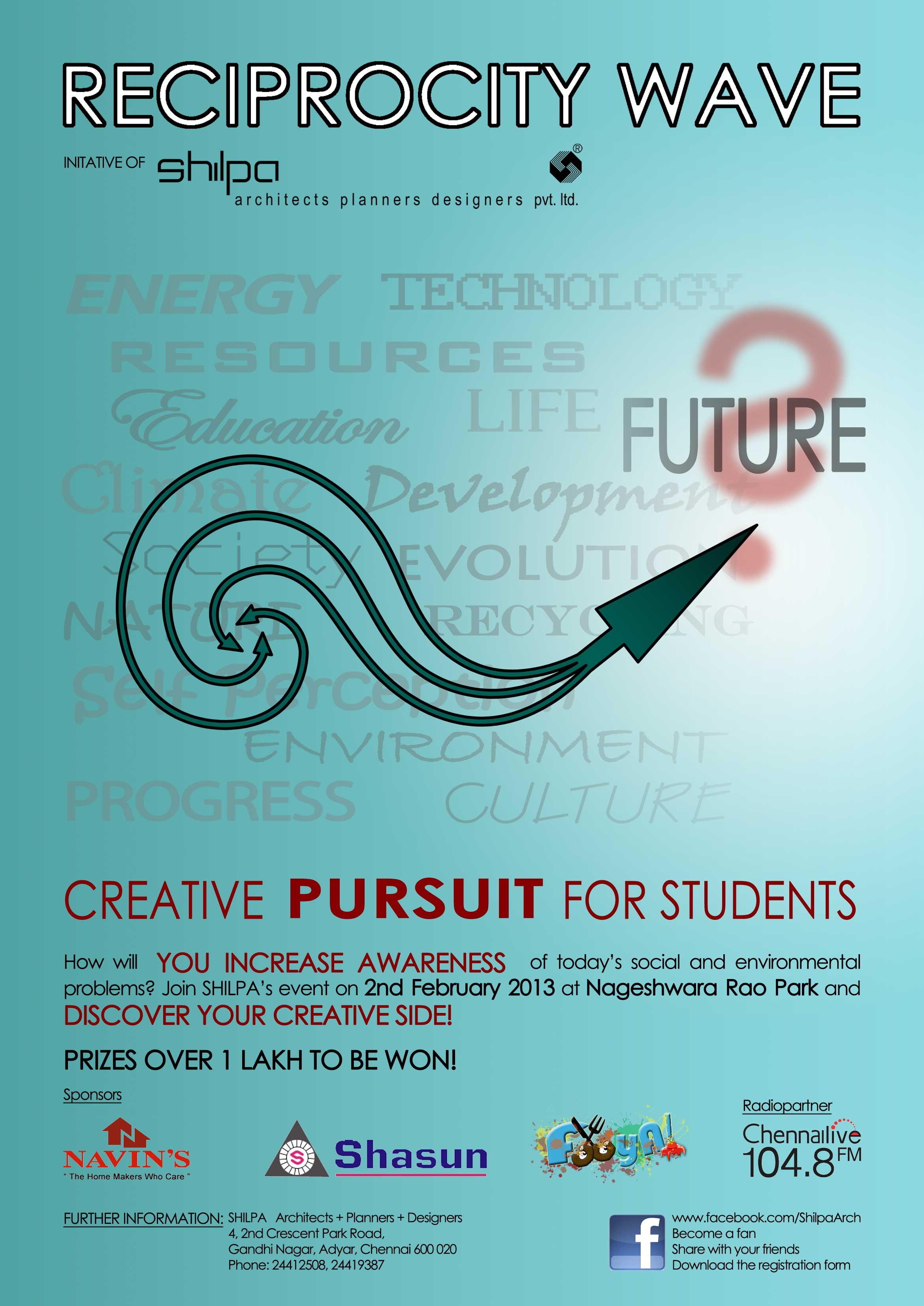Shilpa Architects: Reciprocity Wave - Creative Pursuit for Students