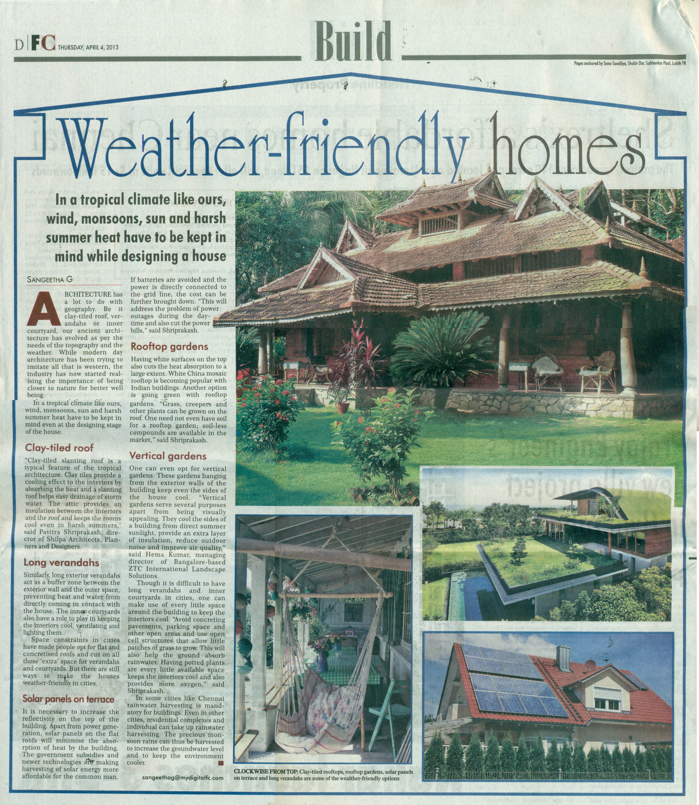 Financial Chronicle, 04 Apr 2013 - Weather friendly homes