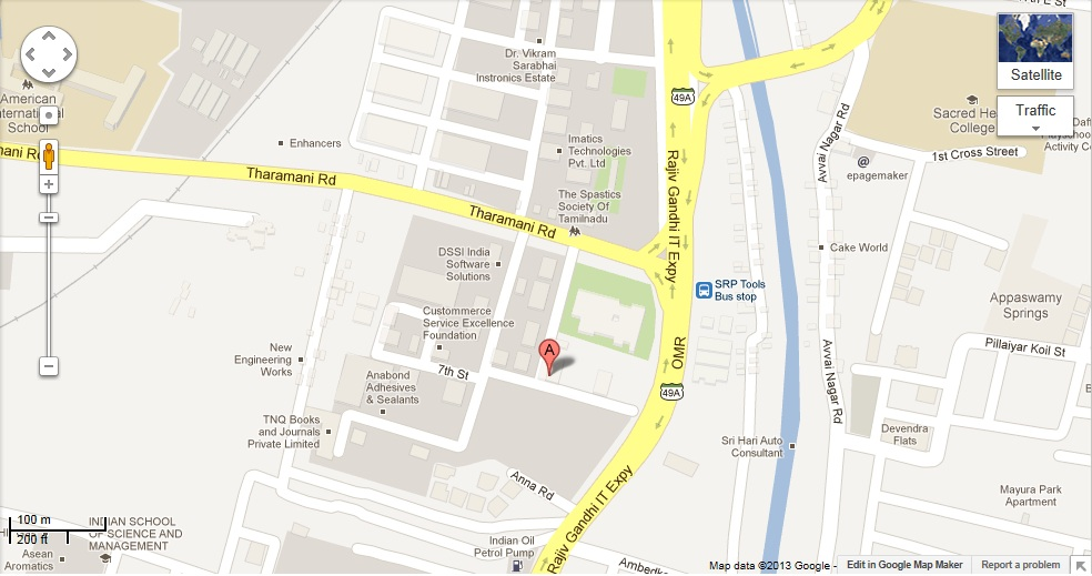 Shilpa Architects Planners Desigers Pvt. Ltd. Office Location (Map)