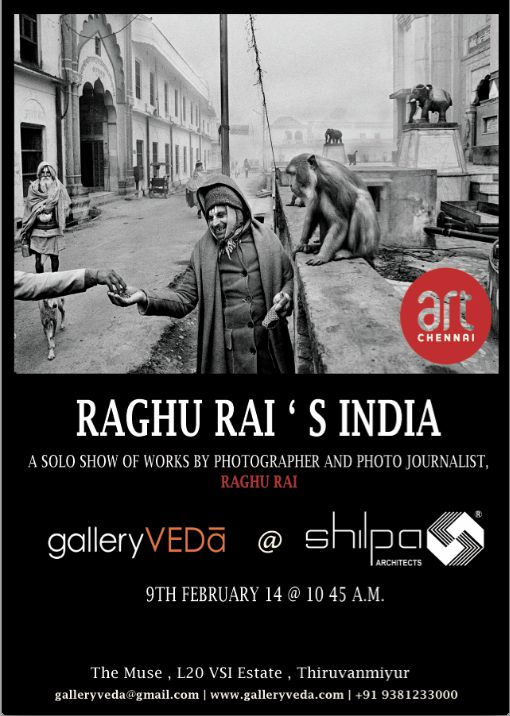 Gallery Veda @ Shilpa Architects presents Raghu Rai's India