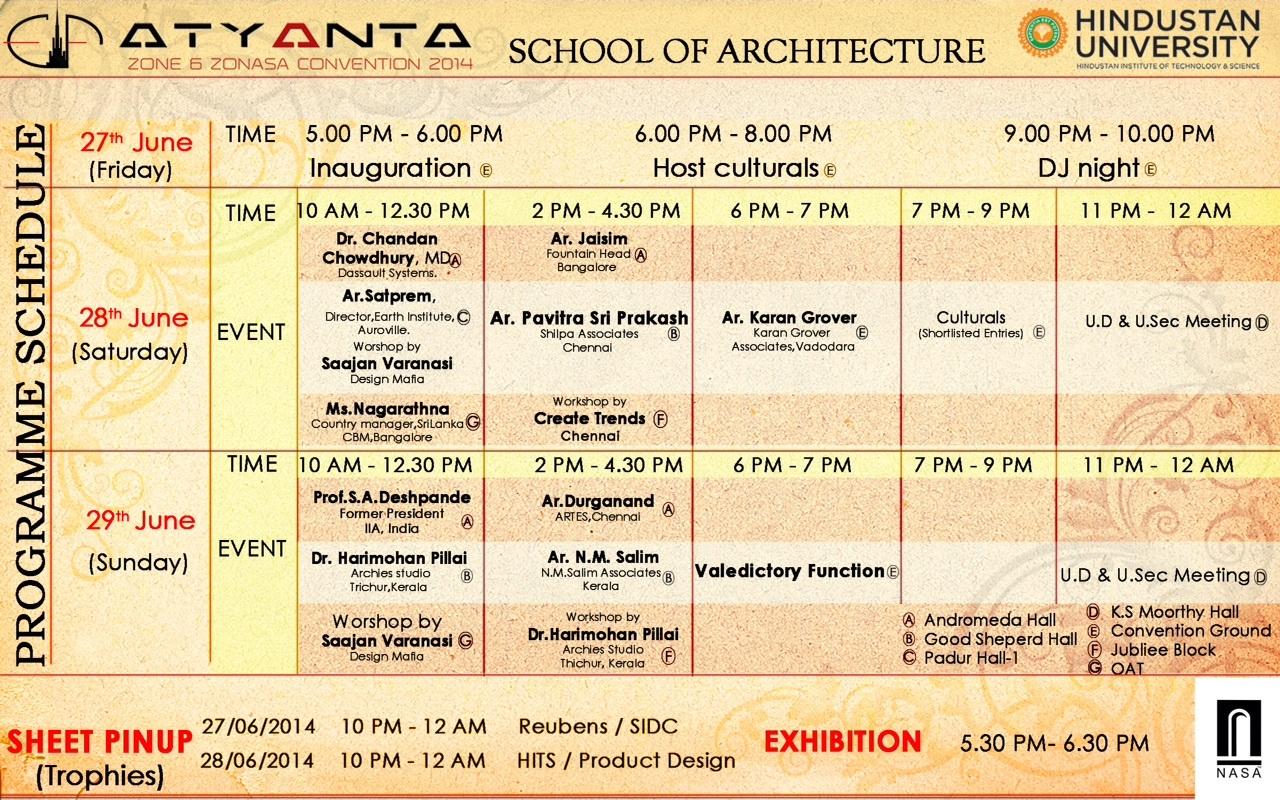 'ATYANTA'- Zonal NASA Convention