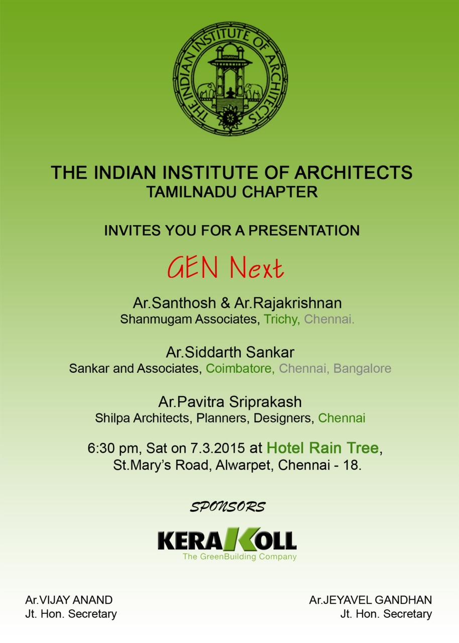IIA Gen Next Presentation