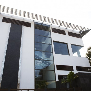 Global Design Studio of Shilpa Architects - Front Facade 12