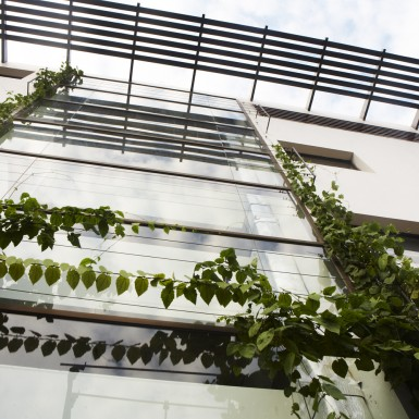 Global Design Studio of Shilpa Architects - Green Facade