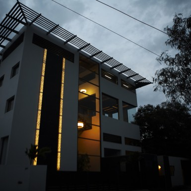 Global Design Studio of Shilpa Architects - Night Shot 8
