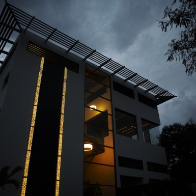 Global Design Studio of Shilpa Architects - Night Shot 7