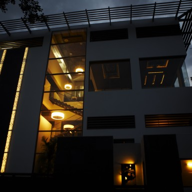 Global Design Studio of Shilpa Architects - Night Shot 6