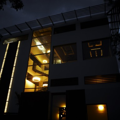 Global Design Studio of Shilpa Architects - Night Shot 5