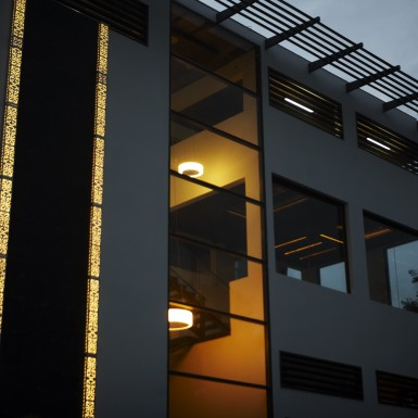 Global Design Studio of Shilpa Architects - Night Shot 4