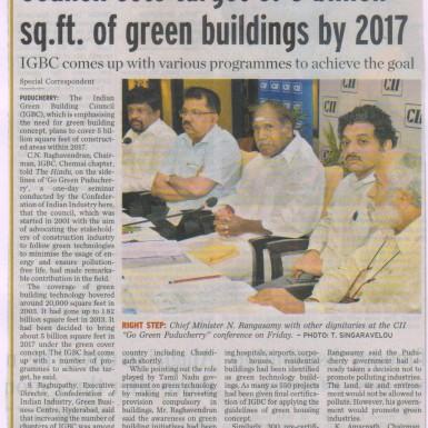 Shilpa Architects - Pavitra Sriprakash - Conference Speaker @ Go Green Puducherry
