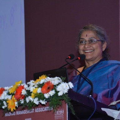 Sheila Sri Prakash - Speaker @ MMA Women Managers' Convention