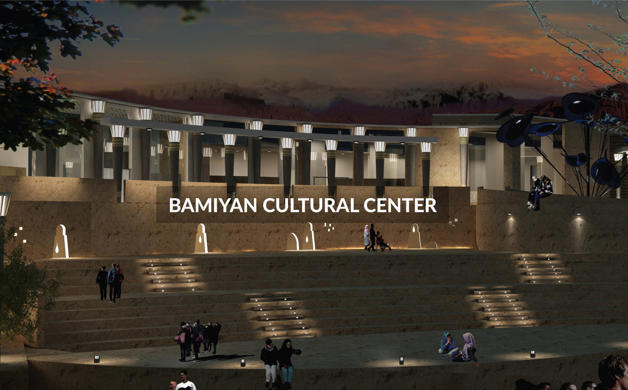 Bamiyan Cultural Center - UNESCO World Heritage Site, Afghanistan - Shilpa Architects