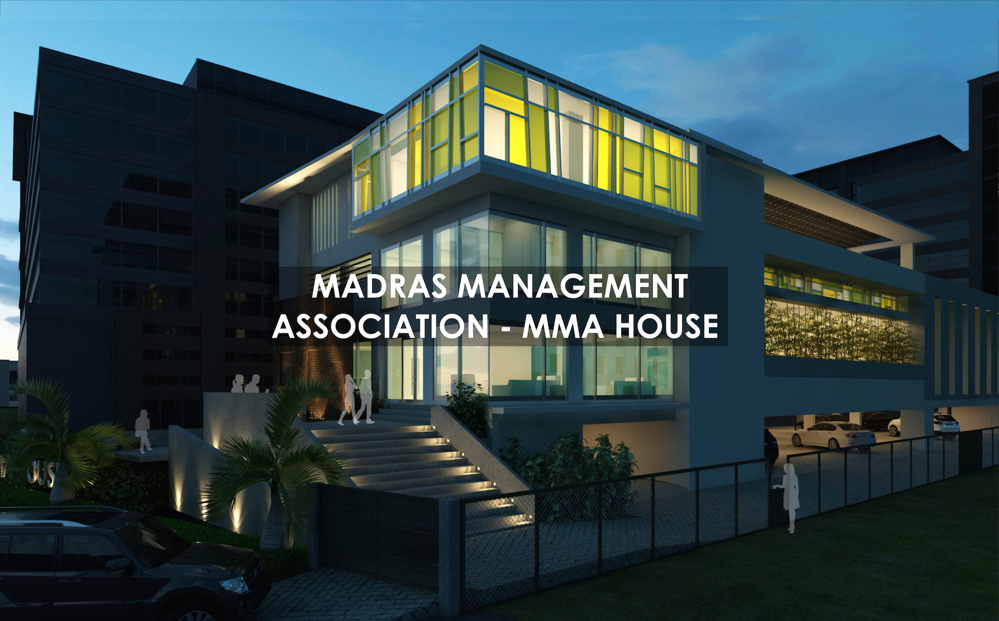 MADRAS MANAGEMENT ASSOCIATION MMA CHENNAI SHILPA ARCHITECTS