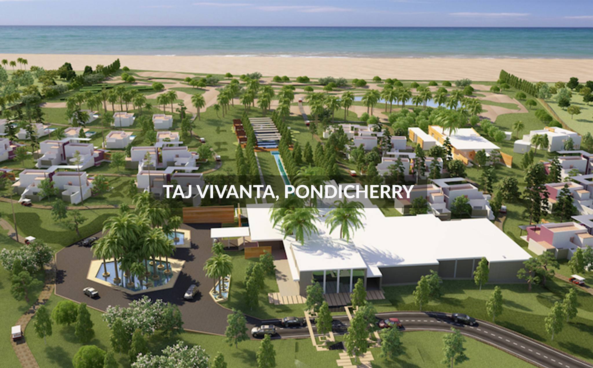 Shilpa Architects - Taj Vivanta, Pondicherry