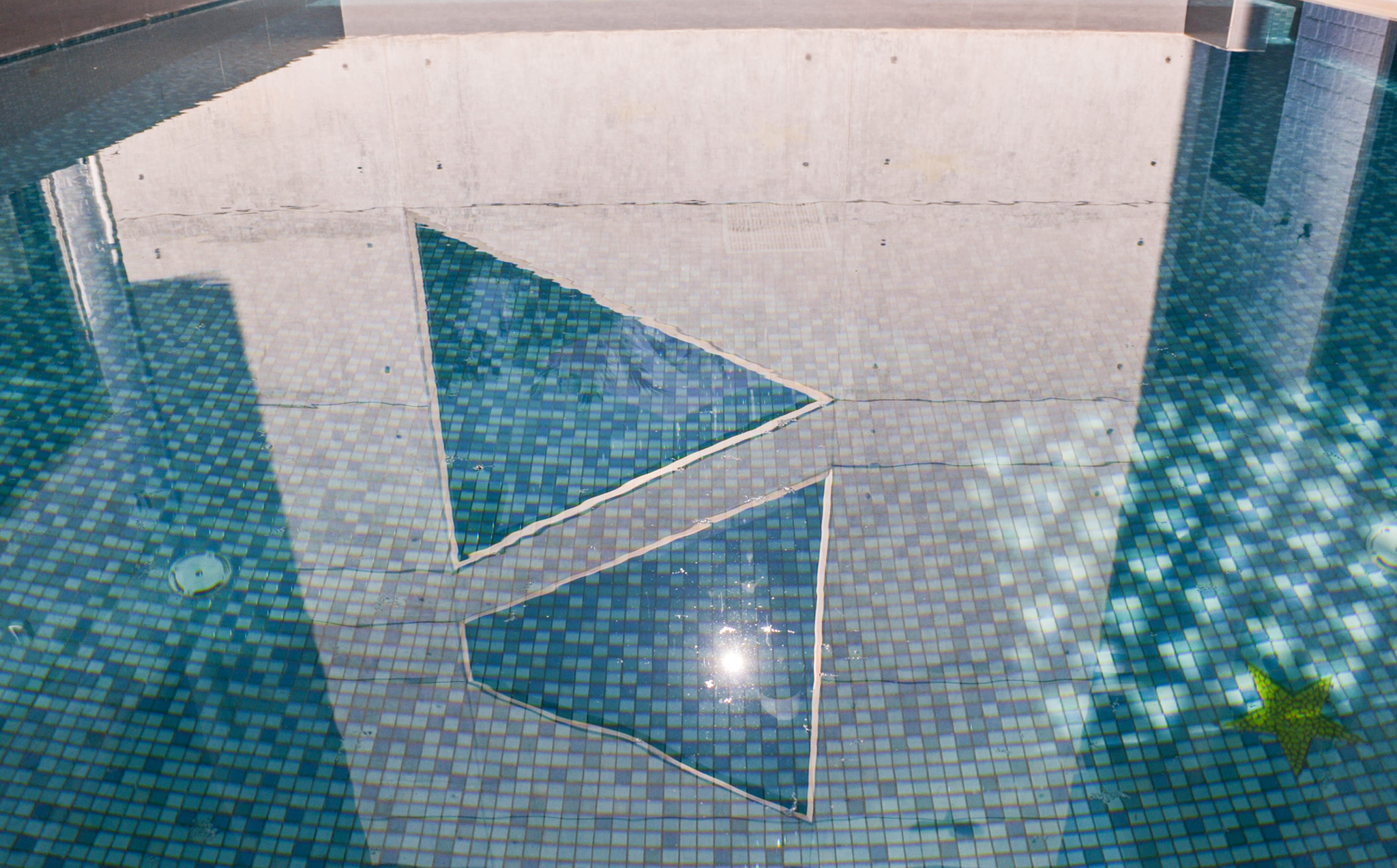 Copper Beach Gardens - Pool Reflection