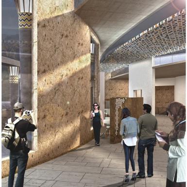 Bamiyan Cultural Center Interior View 3