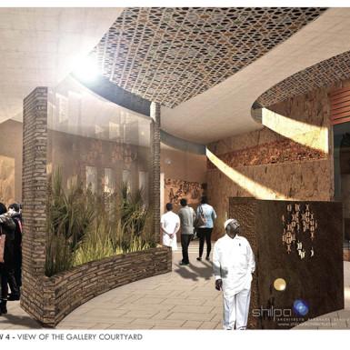 Bamiyan Cultural Center Interior View 2