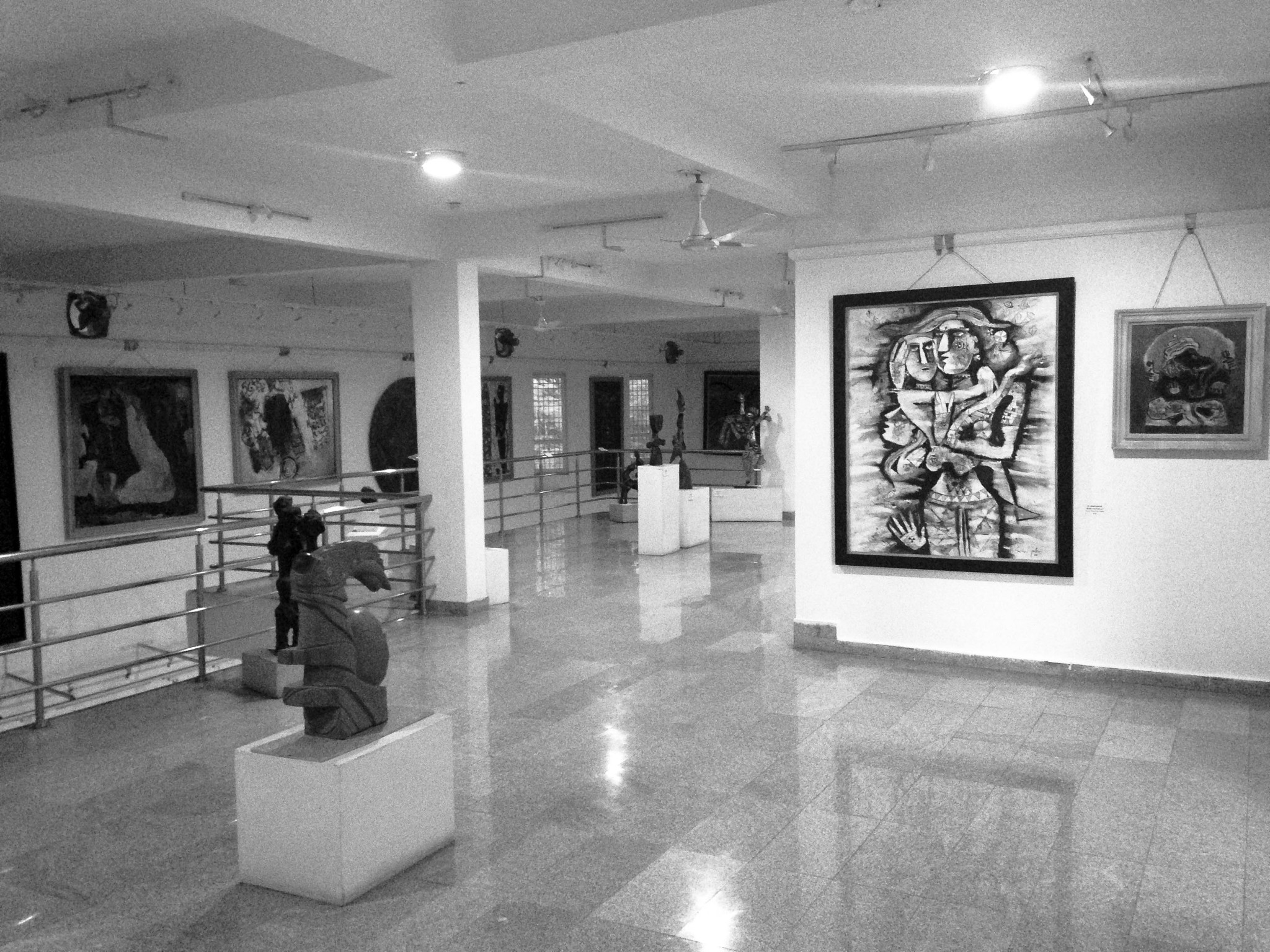 Shilpa Architects - Cholamandal Center for Contemporary Art / Madras Art House - Interior