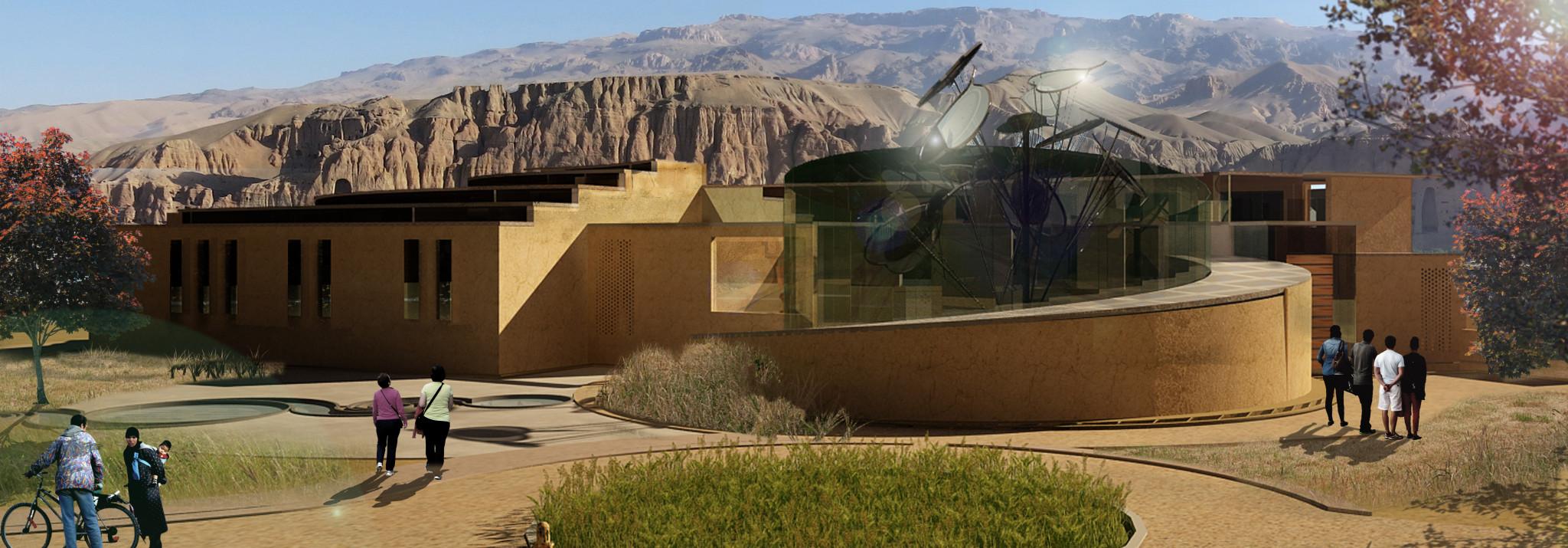 Bamiyan Cultural Center Exterior View