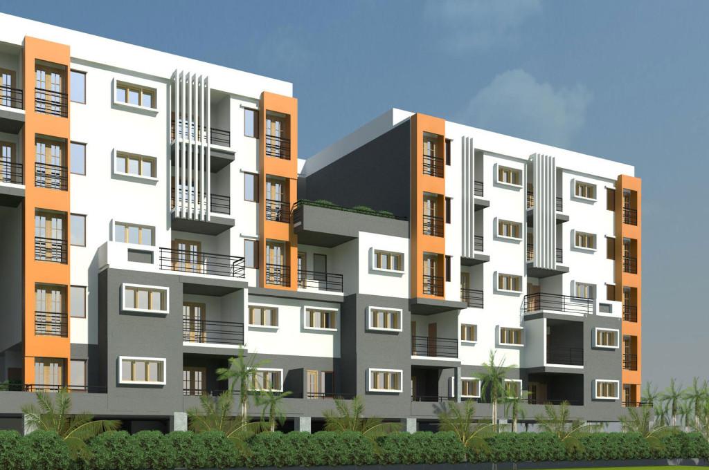 Mahindra Lifespaces Iris Court Rendering 2