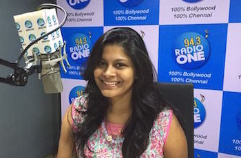 Pavitra Sri Prakash on 94.3 FM Radio One