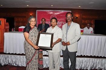 IIA Honorable Architect award to Ar. Sheila Sri Prakash