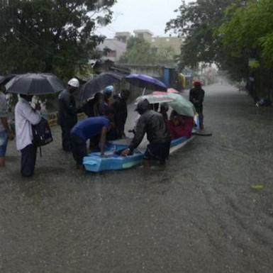 Chennai Floods - Image Courtesy - The Hindu