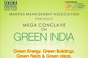 "MMA-KAS Conclave on ""Green India"""