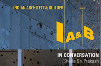 Indian Architect & Builder with Ar. Sheila Sri Prakash
