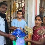 Chennai Flood Relief Material Distribution Shilpa Architects Amrit Sahasranamam