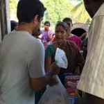Chennai Flood Relief Material Distribution Shilpa Architects Amrit Sahasranamam