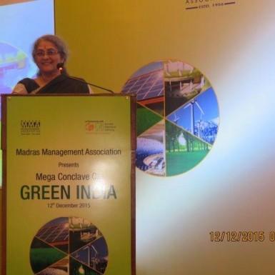 MMA Green Conclave Sheila Sri Prakash