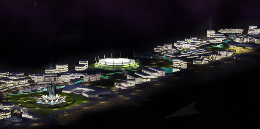 Dubai Town - Concept Design and Master Planning by Shilpa Architects