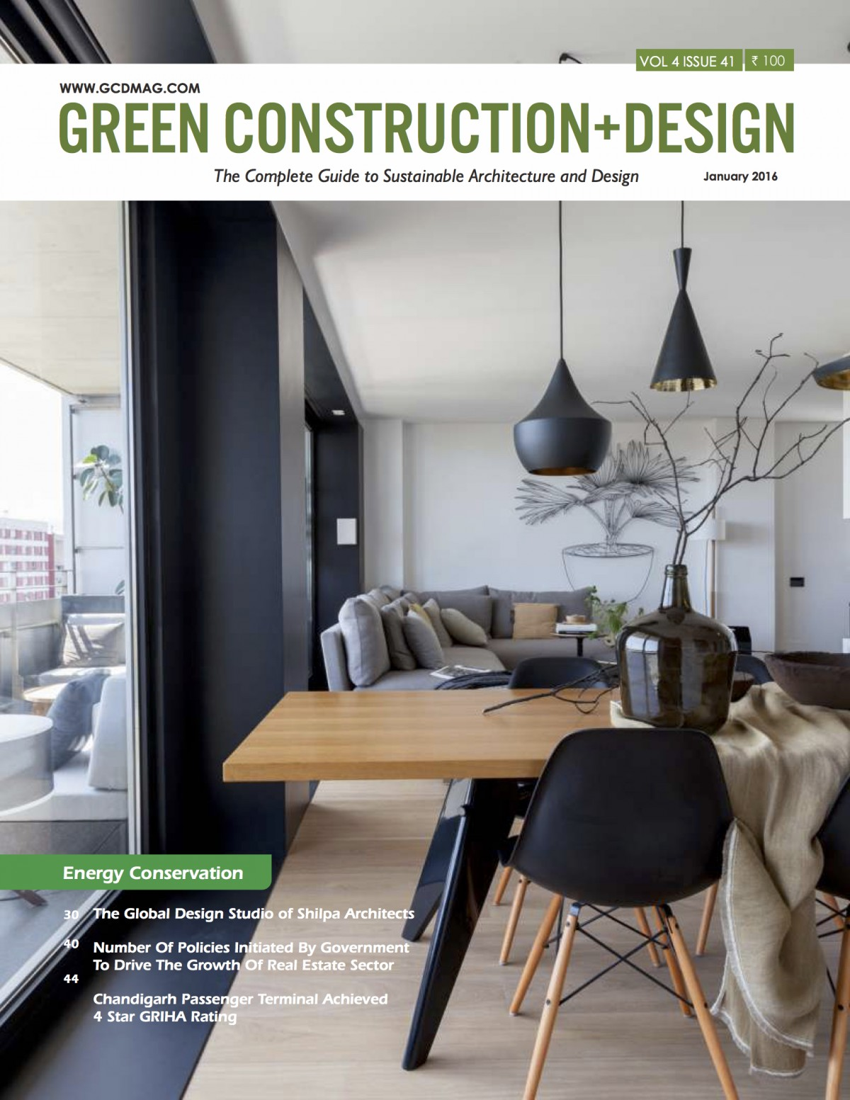 Green Construction and Design Magazine Shilpa Architects Studio