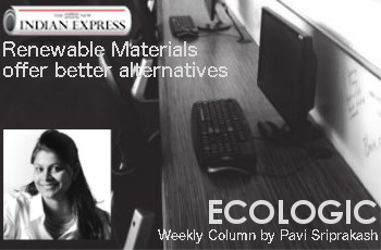 ECOLOGIC: Renewable Materials Offer Better Alternatives