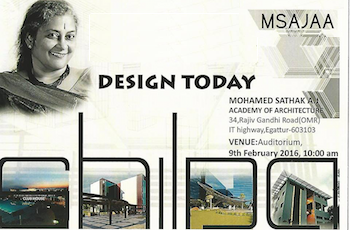 Lecture: Design Today