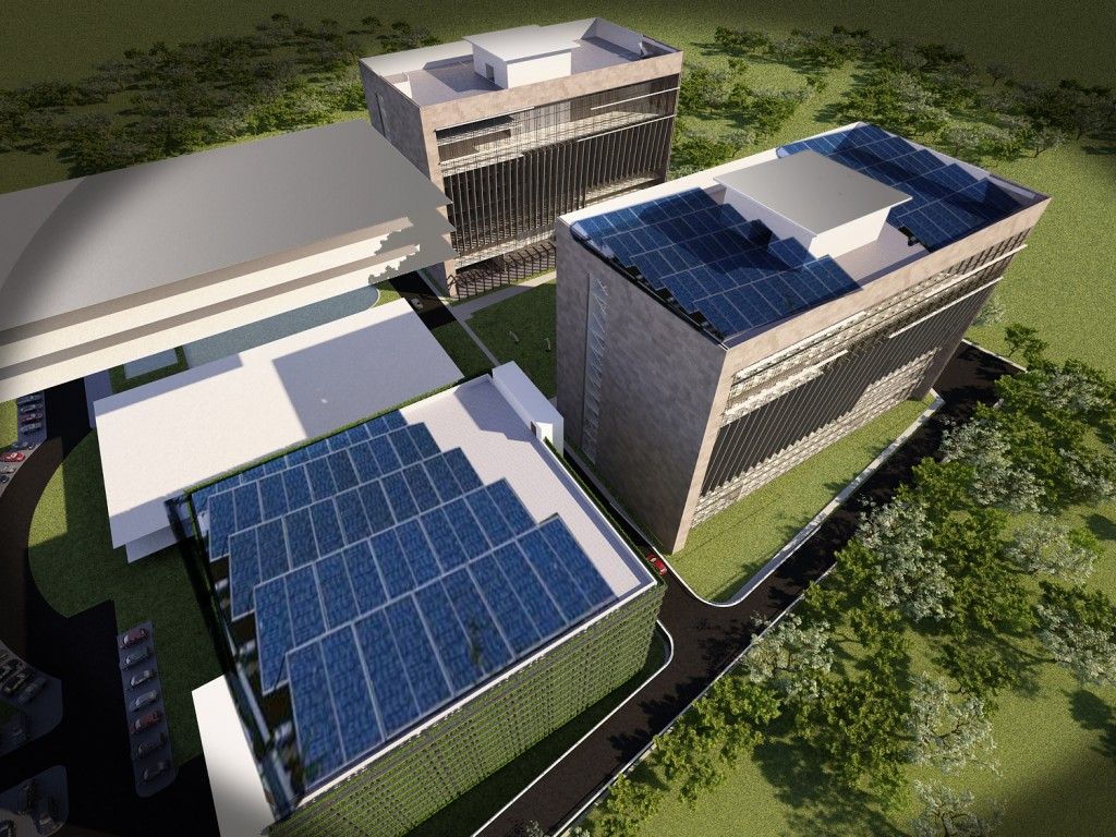 Research and Development Park - Solar Panel