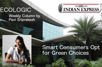 ECOLOGIC - Smart Consumers Opt for Green Choices - New Indian Express