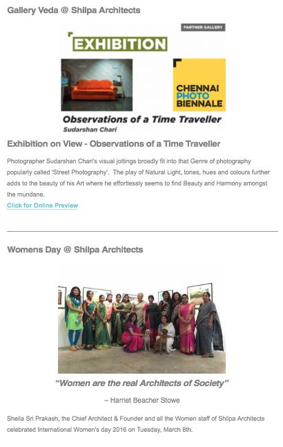 07 Shilpa Architects Newsletter #2, 2016