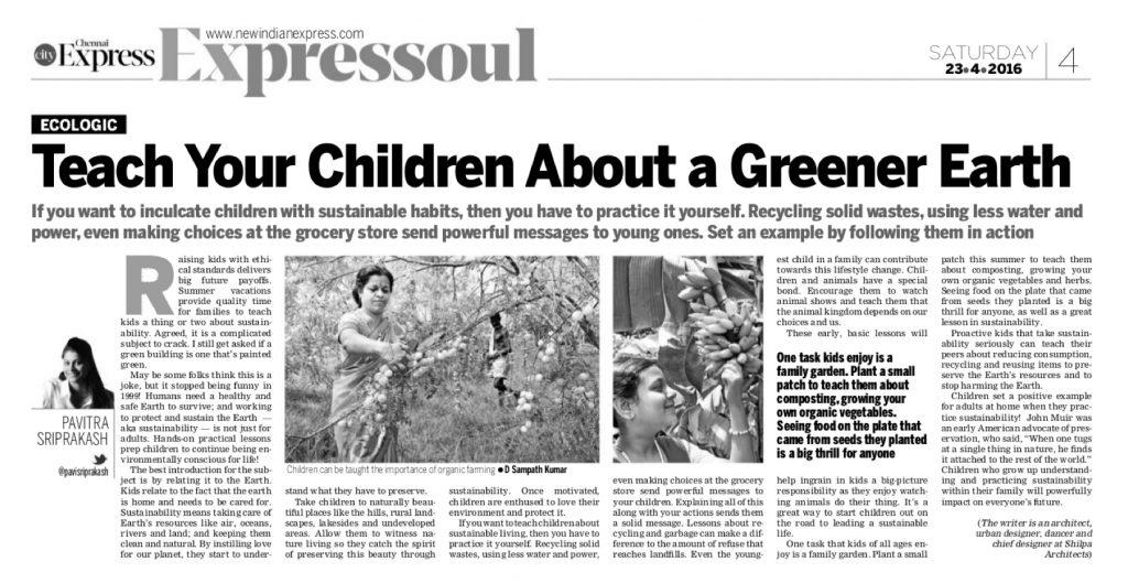 #18- 23Apr16 Kids Sustainability