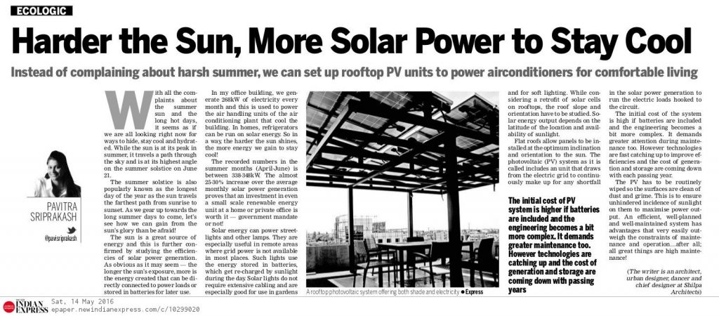 #21- 14May16 Solar Power