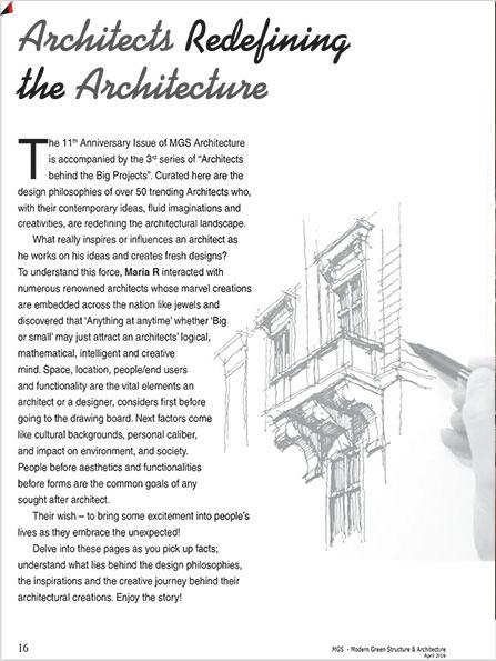 MGS Architecture Pavi Sriprakash Pavitra