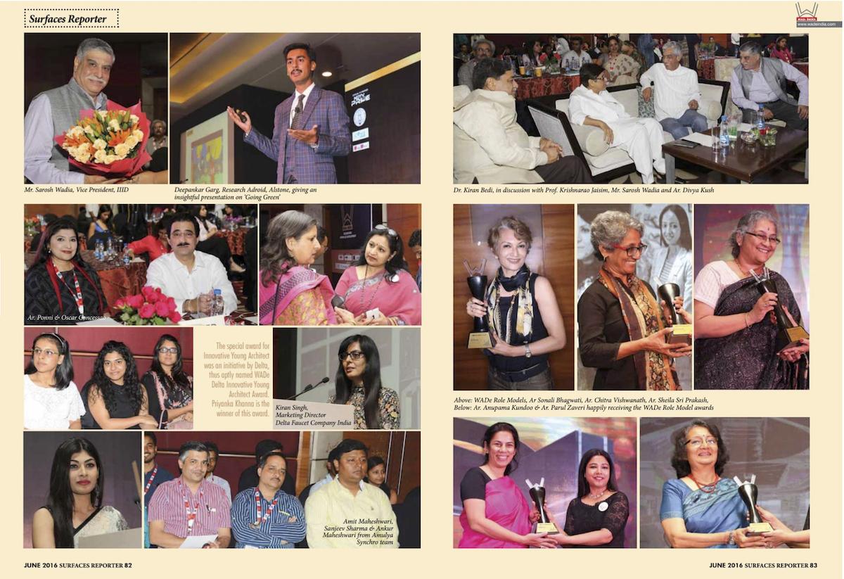 Surfaces Reporter June 2016 04 WADe Awards Sheila Sri Prakash