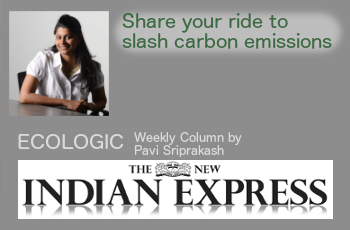 ECOLOGIC: Share your ride to slash carbon emissions