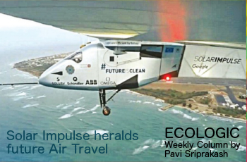 ECOLOGIC: Solar Impulse heralds future air travel