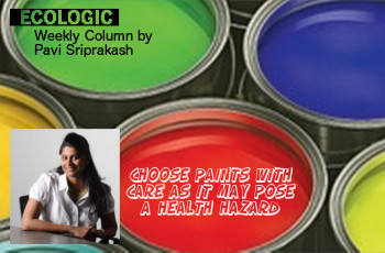 ECOLOGIC: Choose paints with care