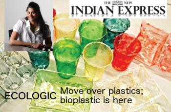 ECOLOGIC: Move over plastics; bioplastic is here