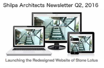 Shilpa Architects Newsletter Q2 2016